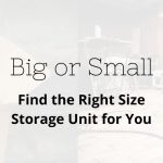 Small storage units canton oh